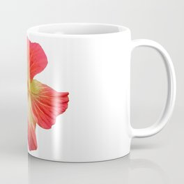 Gorgeous Red And Gold Hawaiian Hibiscus Flower No Text Coffee Mug