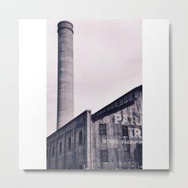 The Steel Fabrication Metal Print