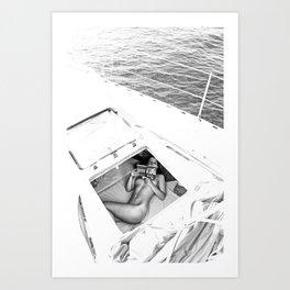 Happy Sailing Art Print