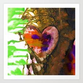 Eternal Heart No. 13G by Kathy Morton Stanion Art Print