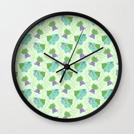 Plant pals Wall Clock