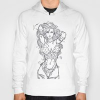 poison ivy Hoodies featuring Poison Ivy by Leamartes