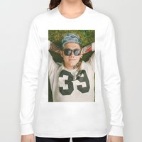 niall horan Long Sleeve T-shirts featuring Niall Horan Punk Edit by Vinny's Edits