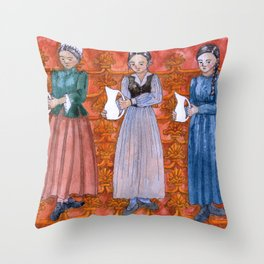 The Thing That Doesn't Fit Throw Pillow
