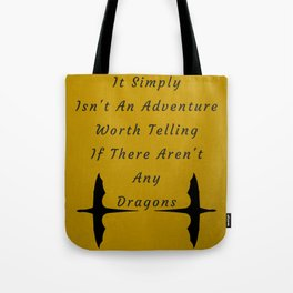 Dragon Adventure Tote Bag