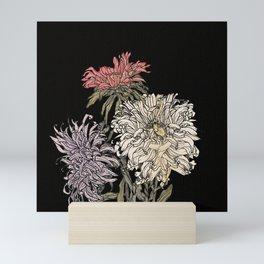 In praise of beauty (dark version) Mini Art Print