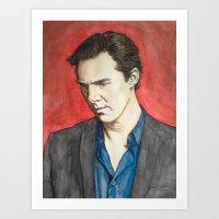 benedict Art Prints featuring Benedict by IamDeirdre