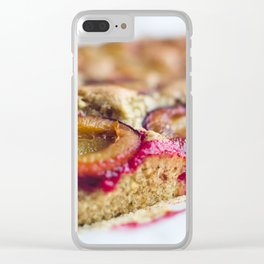 Baking Time Clear iPhone Case