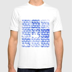 triangle stamp Mens Fitted Tee White MEDIUM