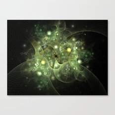 Dawning Universe Fractal Art Canvas Print