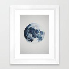 Blueberry Moon Framed Art Print