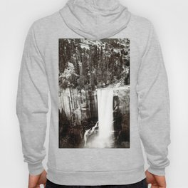 Eadweard Muybridge Pi-Wi-Ack (Shower of Stars) Vernal Fall Valley of Yosemite Hoody