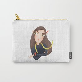 To sew or not to sew? by Julia Gosteva Carry-All Pouch
