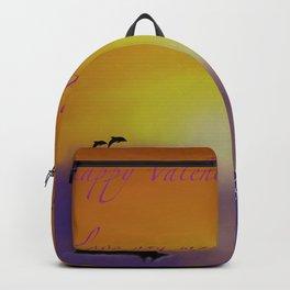 Sunset Valentine Backpack