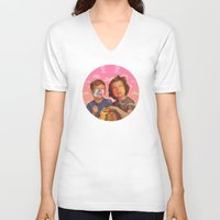 candy V-neck T-shirts featuring Delicious Candy by Popsicle Illusion