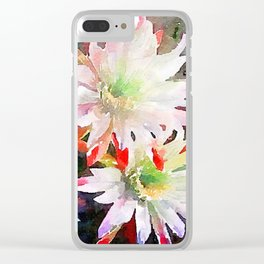 MayFlowers484 Clear iPhone Case