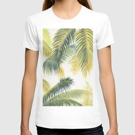 Tropical Palm Leaves T-shirt