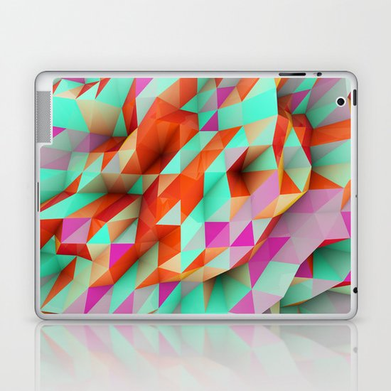Polygons Sphere Abstract Laptop & iPad Skin