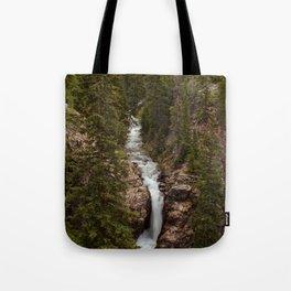 Rushing Judd Falls Tote Bag