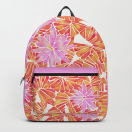 Water Lilies – Melon Palette Backpack