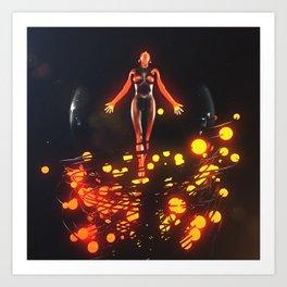 Redhot Soul Art Print