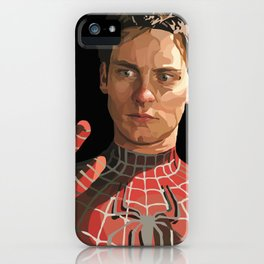 toby maguire iPhone Case
