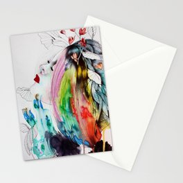 Flowered 1. Stationery Cards