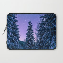 Chilly Conifers Laptop Sleeve