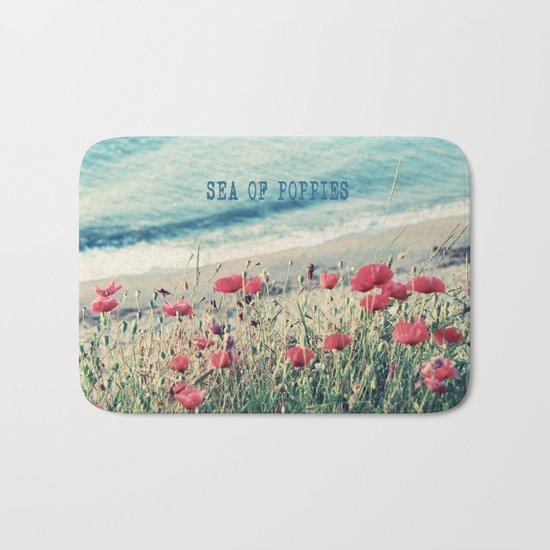 Sea of Poppies Bath Mat