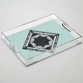 Hiking Trails-Strong as Nails Acrylic Tray