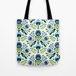 Polish Folk Birds Tote Bag