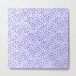 Original Handmade Pattern - Positive Vibe Metal Print