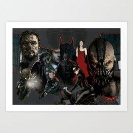 Trilogy Tribute Art Print