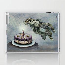 Turtle Birthday Laptop & iPad Skin