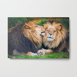 Ooh Yeah, Right There (digital painting) Metal Print