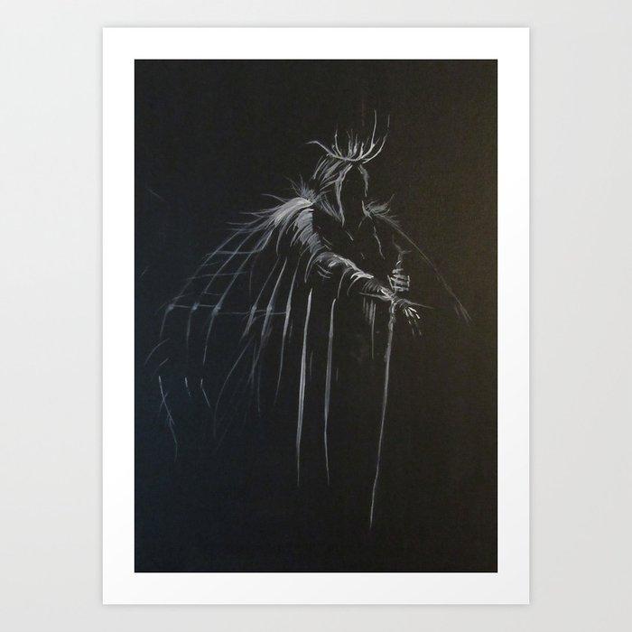 Night Emperor Art Print
