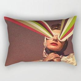 Rayguns Rectangular Pillow