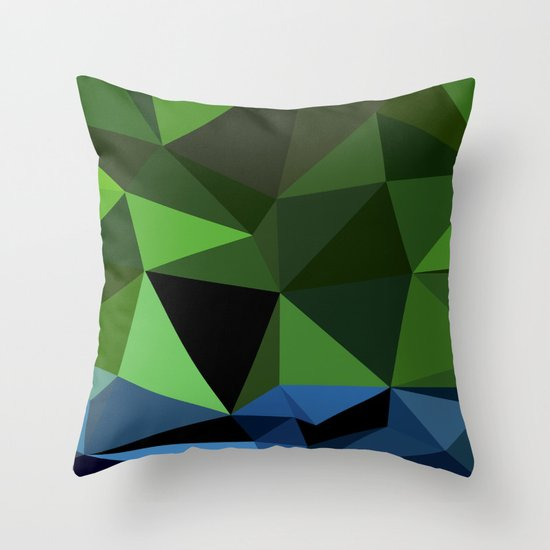Hulk Decorative Pillow : Polygon Heroes - Hulk Throw Pillow by PolygonHeroes Society6