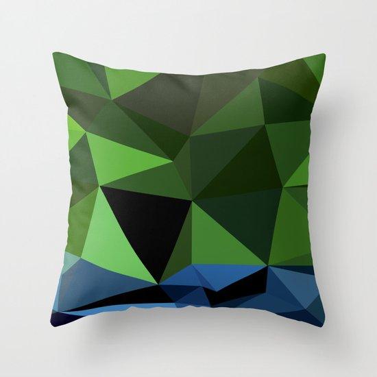 Polygon Heroes - Hulk Throw Pillow by PolygonHeroes Society6