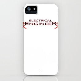 electrical engineer, electric engineering iPhone Case