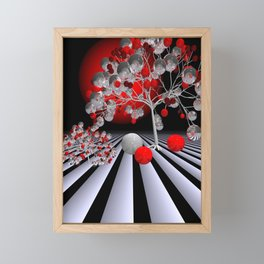 tree like glass -1- Framed Mini Art Print