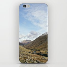 Brothers Water and the Kirkstone Pass. Cumbria, UK. iPhone Skin