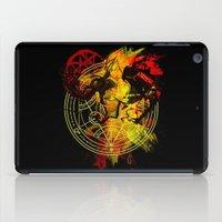 fullmetal iPad Cases featuring Alchemy by Coffeewatson