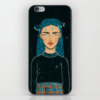 hologram iPhone & iPod Skins featuring In A Hologram With You by a thousand daisies