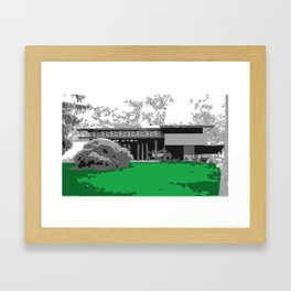Usonian 1 Framed Art Print