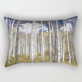 Blue Skies Over Aspen Rectangular Pillow