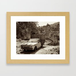 Abandoned in Turkey Framed Art Print