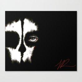 Death is a WoMaN Canvas Print