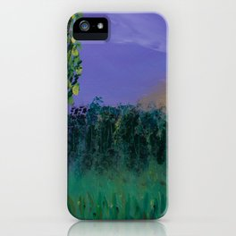Backyard Sunrise iPhone Case