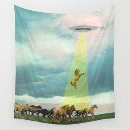 They too love horses Wall Tapestry